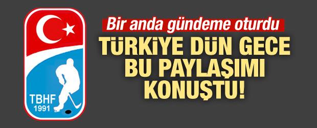 Türkiye dün gece bu paylaşımı konuştu!