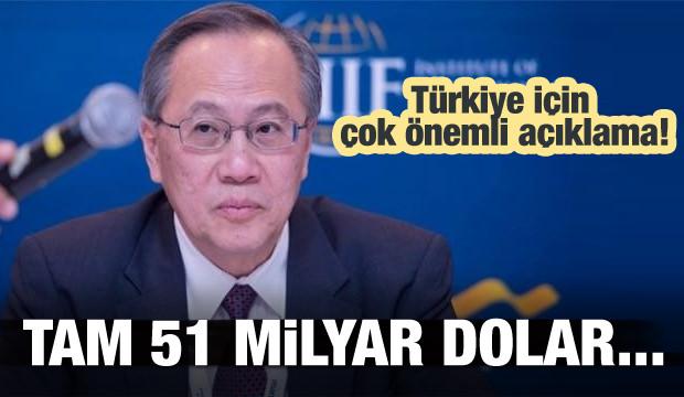 Türkiye için müthiş haber! Tam 51 milyar dolar...