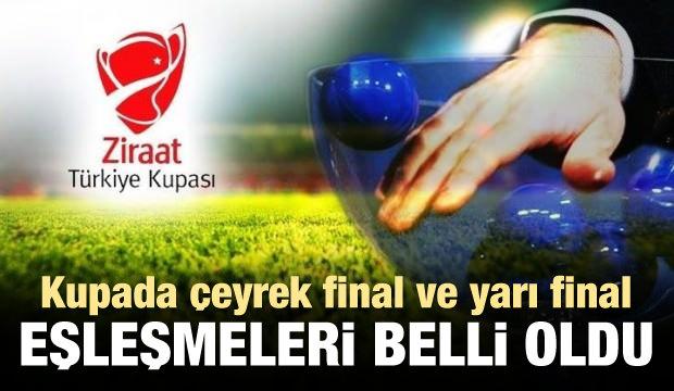 Türkiye Kupası'nda eşleşmeler belli oldu!