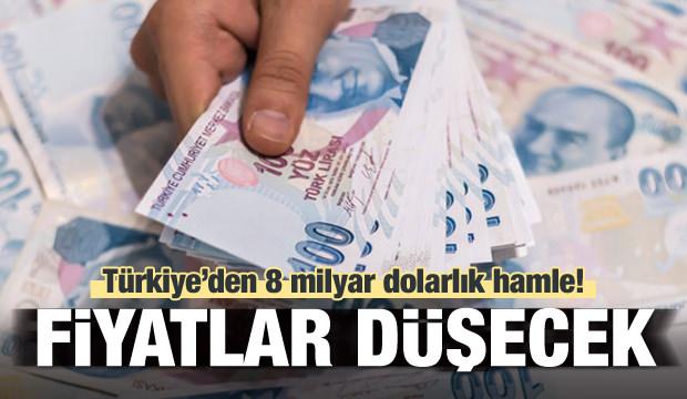 Türkiye'den 8 milyar dolarlık stratejik hamle