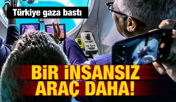 Türkiye'den bir insansız araç daha