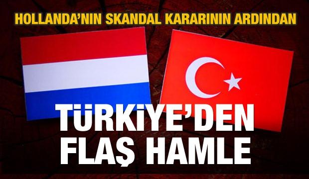 Türkiye'den Holanda'ya çok sert bir tepki daha