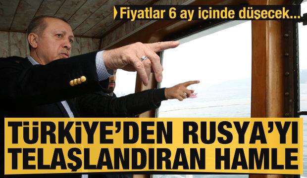 Türkiye'den Rusya'yı kaygılandıran doğalgaz adımı