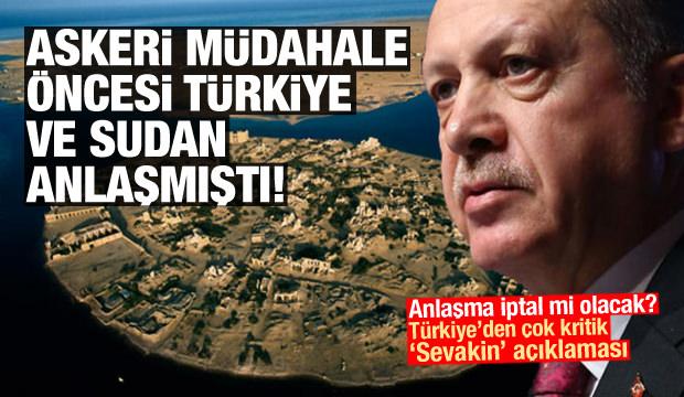 Türkiye'den Sudan'daki Sevakin Adası hakkında flaş açıklama