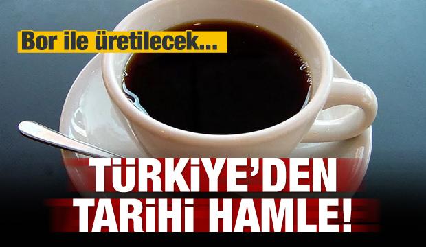 Türkiye'den tarihi hamle! Bor ile üretilecek