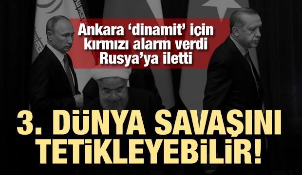 Türkiye'nin İdlib Alarmı! Üçüncü Dünya Savaşı'nı Tetikleyebilir!