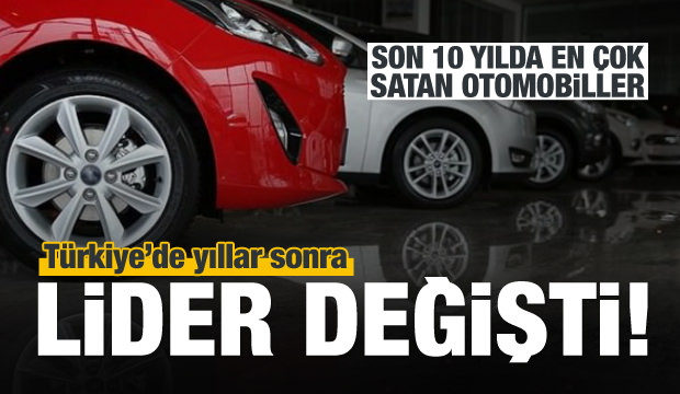 Türkiye'nin otomobil tercihinde lider belli oldu