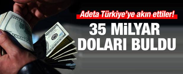 Türkiye'ye akın var! 35 milyar doları buldu