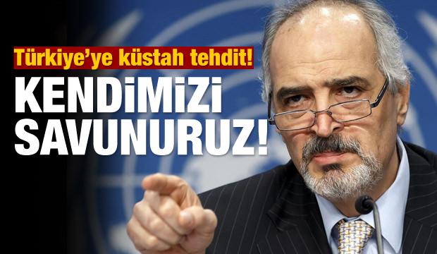 Türkiye'ye küstah tehdit! Kendimizi savunuruz!