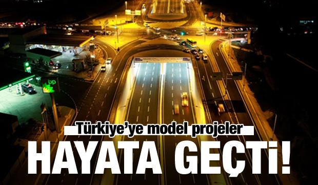 Türkiye'ye model projeler hayata geçti