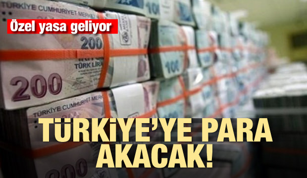 Türkiye'ye para akacak! Hükümet özel yasa hazırlıyor
