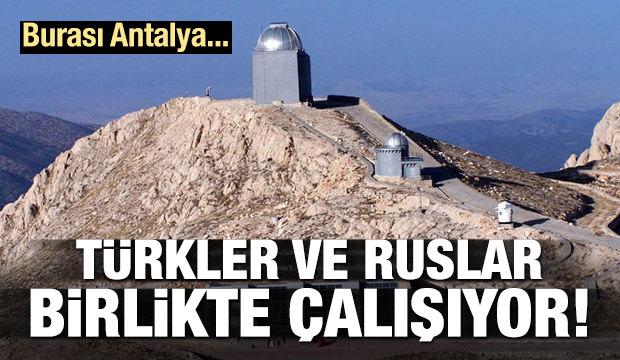 Türkler ve Ruslar yeni gezegenler peşinde!