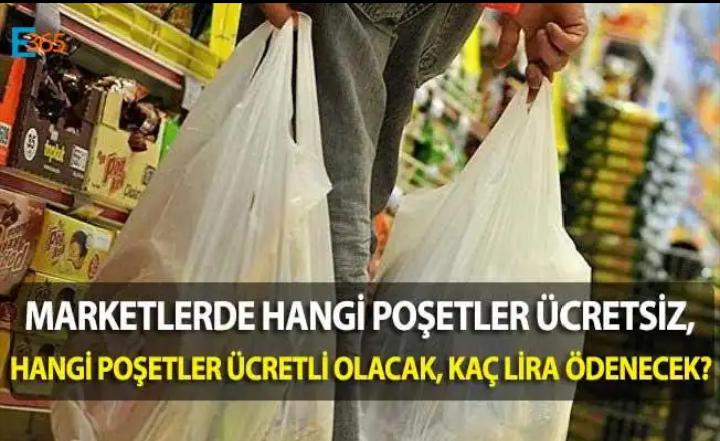 Ücretli plastik poşetler: İade edip parasını geri almak mümkün mü?