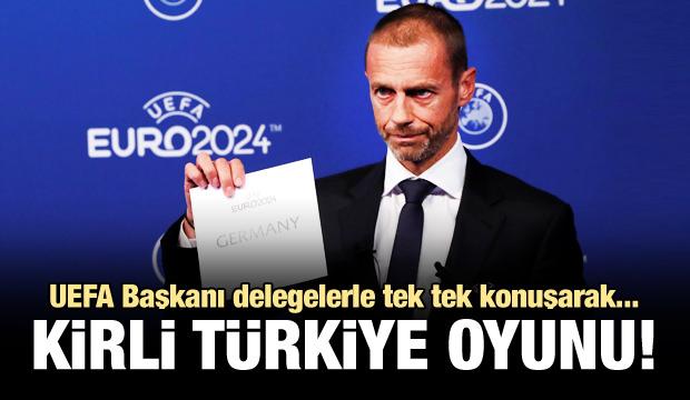 UEFA Başkanı'nın kirli oyunu! Oylama sabahı...