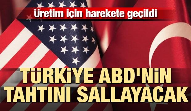 Üretim için harekete geçildi! Türkiye, ABD'nin tahtını sallayacak
