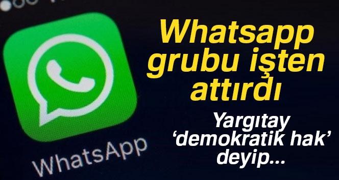 Whatsapp'ta Grup Kuran İşçileri İşten Atan Patrona Yargıtay 'Dur' Dedi