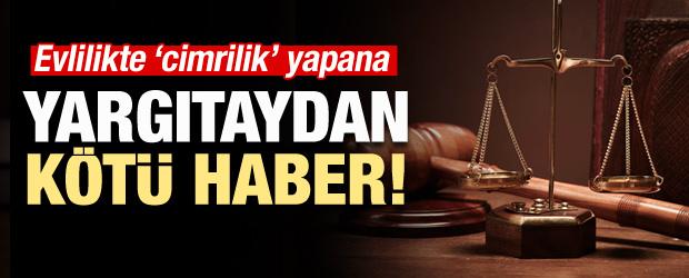 Yargıtay'dan Evlilikte Cimrilik Kararı!