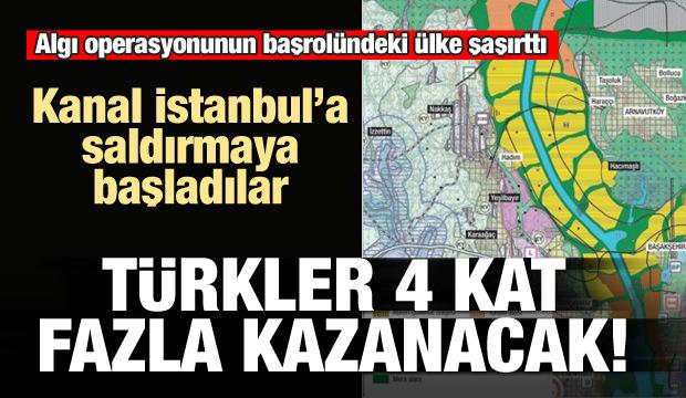 Yeni hedefleri Kanal İstanbul! Türkler 4 kat fazla kazanacak