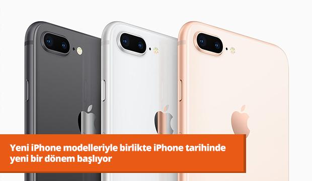 Yeni iPhone modelleriyle birlikte iPhone tarihinde yeni bir dönem başlıyor