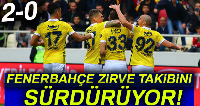 Yeni Malatya 0-2 Fenerbahçe (Maç Sonucu)