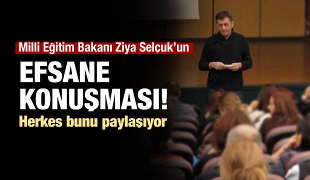 Yeni Milli Eğitim Bakanı'nın efsane konuşması