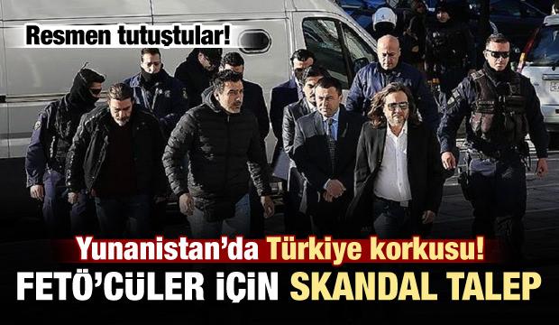 Yunan'da Türkiye korkusu! Bakın ne talep ettiler