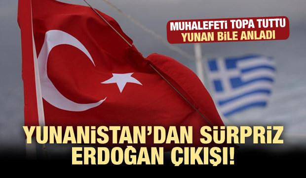 Yunanistan'dan sürpriz Erdoğan çıkışı!