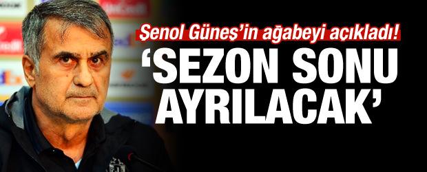 Zekeriya Güneş: 'Şenol Güneş Sezon Sonu Beşiktaş'tan Ayrılacak'