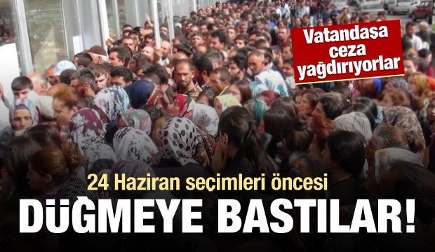 24 Haziran öncesi vatandaşa 'seçim tuzağı'