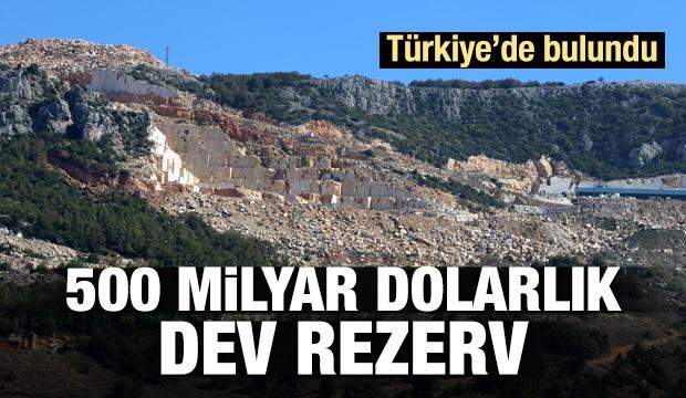 500 Milyar Dolar Değerinde! Bursa' da Bulundu!