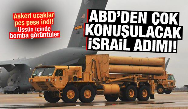 ABD'den çok konuşulacak İsrail adımı! Uçaklar peş peşe indi