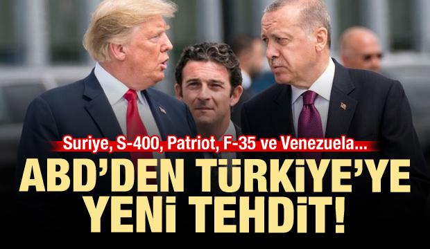 ABD'den Türkiye'ye S-400 üzerinden yeni tehdit!