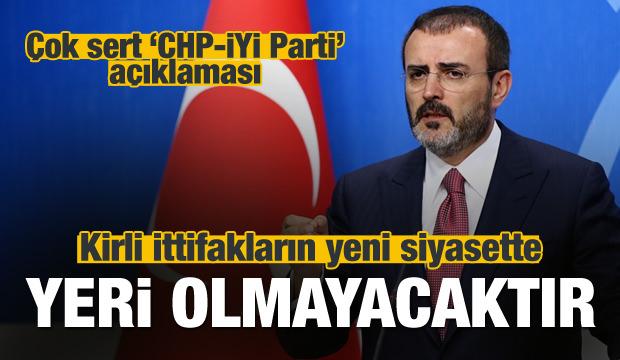AK Parti'den ittifaka çok sert tepki!
