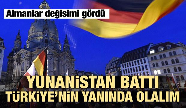 Almanlar: Yunanistan battı Türkiye'nin yanında olalım