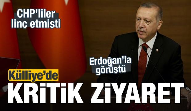 Başkan Erdoğan, CHP'li vekil ile görüştü