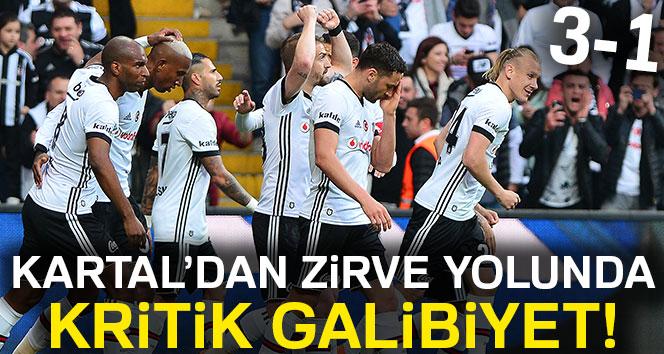 Beşiktaş 3-1 Yeni Malatyaspor (Maç Sonucu)