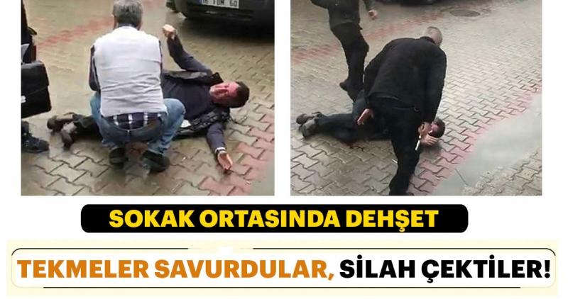 Bursa'da korkunç anlar! Bursa'da tapu dairesi önünde silahlı kavga
