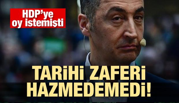 Cem Özdemir, Erdoğan'ın zaferini hazmedemedi