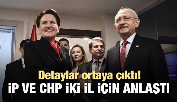CHP ve İP iki şehirde işbirliği yapacak