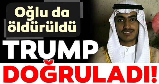Donald Trump açıkladı: Usame bin Ladin'in oğlu öldürüldü