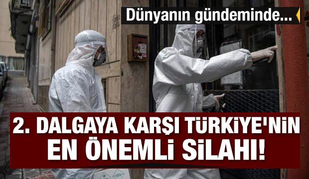 İkinci dalgaya karşı Türkiye'nin en önemli silahı! Dünyanın gündeminde: Dedektife dönüştüler...