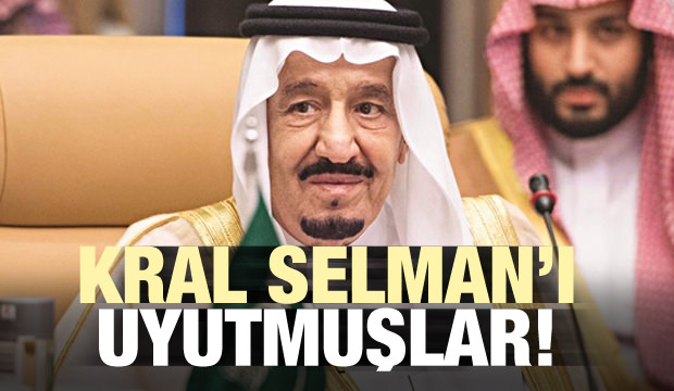 Kral Selman'ı Uyutmuşlar!