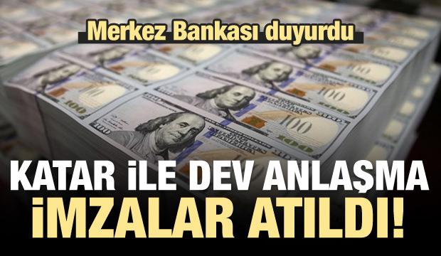 Merkez Bankası duyurdu: 3 milyar dolarlık imza!