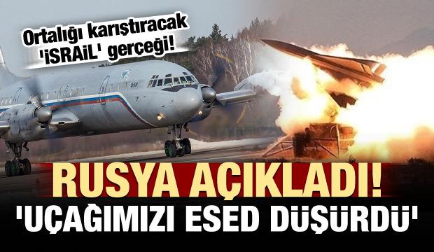 Rusya: Uçağımızı Esed düşürdü