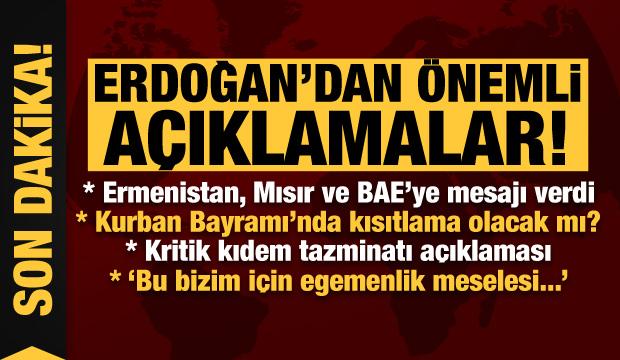 Son dakika haberi: Bayram'da kısıtlama olacak mı? Erdoğan açıkladı...
