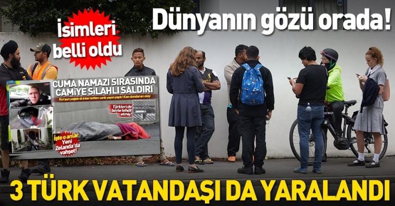 Son dakika: Yeni Zelanda'daki saldırıda 3 Türk vatandaşı yaralandı