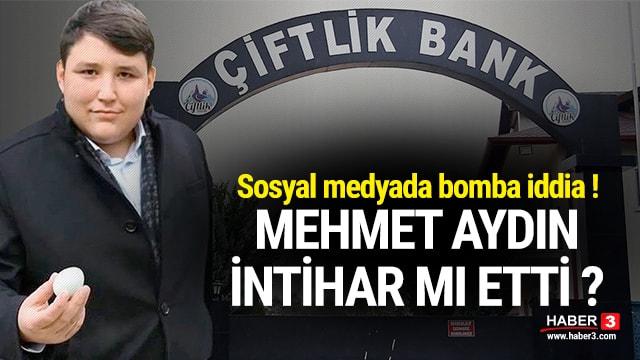 Tosuncuk Lakaplı Mehmet Aydın İntihar Ederek Öldü mü? Sosyal Medyada Gündem Oldu
