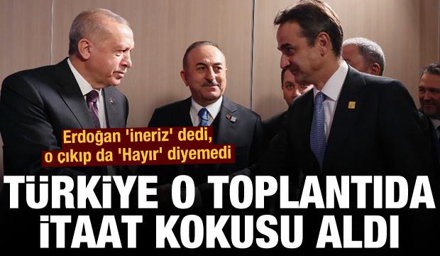 Türkiye o toplantıda itaat kokusu aldı: Erdoğan 'ineriz' dedi, o çıkıp da 'Hayır' diyemedi