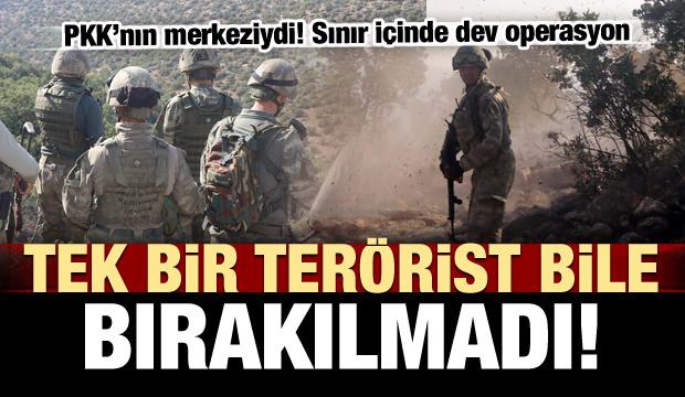 Ve kritik bölge teröristlerden temizlendi!