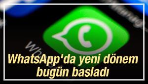 WhatsApp'da Yeni Dönem! Bugün Başladı...